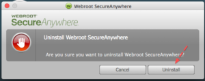 How to uninstall SecureAnywhere for Mac?